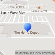 Map Bruce's Cool Sun Screens, LLC Port Saint Lucie, United States