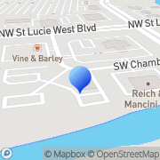 Map Business Closed Port Saint Lucie, United States