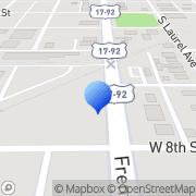 Map Pebble Junction Sanford, United States