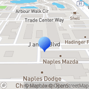 Map Penske Truck Rental Naples, United States