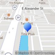 Map Tires Plus Plant City, United States