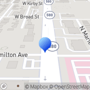 Map Gonzalez Funeral Home Tampa, United States