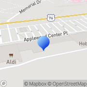 Map RadioShack Seneca, United States