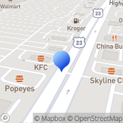 Map Sally Beauty Supply Columbus, United States