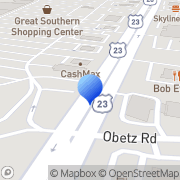 Map Rent-A-Center Columbus, United States