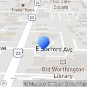 Map Aurora Buttles House Worthington, United States
