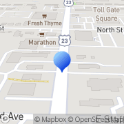 Map Emilia Skin Care Electrolysis Center Worthington, United States
