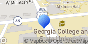 Map Laurel Avenue Milledgeville, United States