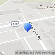 Map Morristown Self Storage Morristown, United States