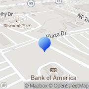 Map Suntrust Bank Gainesville, United States