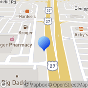 Map Suntrust Bank Carrollton, United States