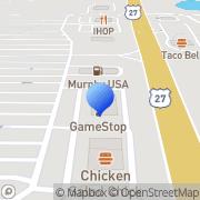 Map RadioShack Carrollton, United States