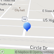 Map Simpson Law Firm De Funiak Springs, United States