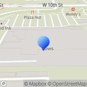Map Sunbelt Rentals Indianapolis, United States