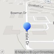 Map Dean Franklin Racing Brownsburg, United States