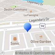 Map Olive Garden Destin, United States