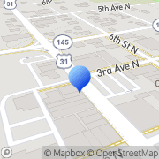 Map E L Klinner Furniture Co Clanton, United States