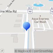 Map Bayside Crane & Rigging Service Inc Cantonment, United States
