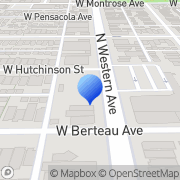 Map Western Automatic Music Inc Chicago, United States