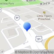 Map Economy Storage Bay Minette, United States