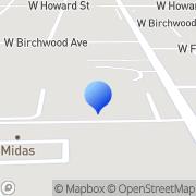 Map Big Blue Swim School Niles, United States