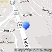 Map Chavis Furniture Mobile, United States