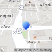 Map Appleton Awning Shop Inc Appleton, United States