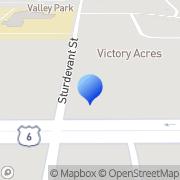 Map Beattie Family Dental Davenport, United States