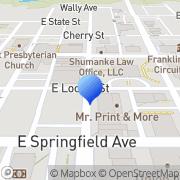 Map Mr. Print & More Union, United States