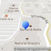 Map Barnes & Noble Fayetteville, United States