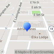 Map Dunning Steven D Dds Adrian, United States
