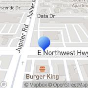 Map Ezmoney Dallas, United States