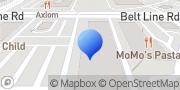 Map Club Pilates Addison, United States