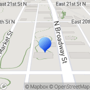 Map Waxene Products Company Wichita, United States