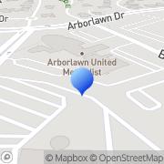Map Arbor Lawn United Methodist Fort Worth, United States