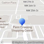 Map RadioShack Oklahoma City, United States