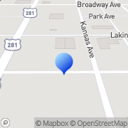 Map Jimlo Glass Ctr Great Bend, United States