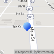 Map R & R Roofing Co Great Bend, United States