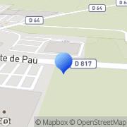 Carte de D.T.P. Jaffrézic S.A. - Déménagement Transports Pyrénéens Jaffrezic Ibos, France