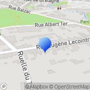 Carte de Garnier Bois S.A. Alençon, France