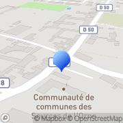 Carte de Ariel BN S.A. Sées, France