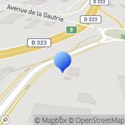Carte de Armaco S.A.R.L. Arnage, France