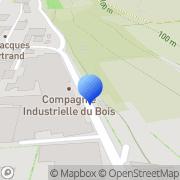 Carte de C.I.B. S.A. - Compagnie Industrielle du Bois Mézin, France
