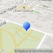 Carte de Edi Service S.A. Auch, France
