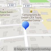 Carte de Dauphin O.T.A S.A. Tours, France