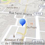 Carte de Bossard S.A. Nogent-le-Rotrou, France