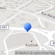 Carte de Etablissements Magniez S.A. Vendôme, France