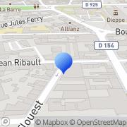 Carte de Delarue S.A.S Dieppe, France