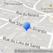 Carte de B.G.S. S.A.R.L. Rouen, France