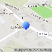 Carte de I.S.S. Klinos S.A. Rouxmesnil-Bouteilles, France